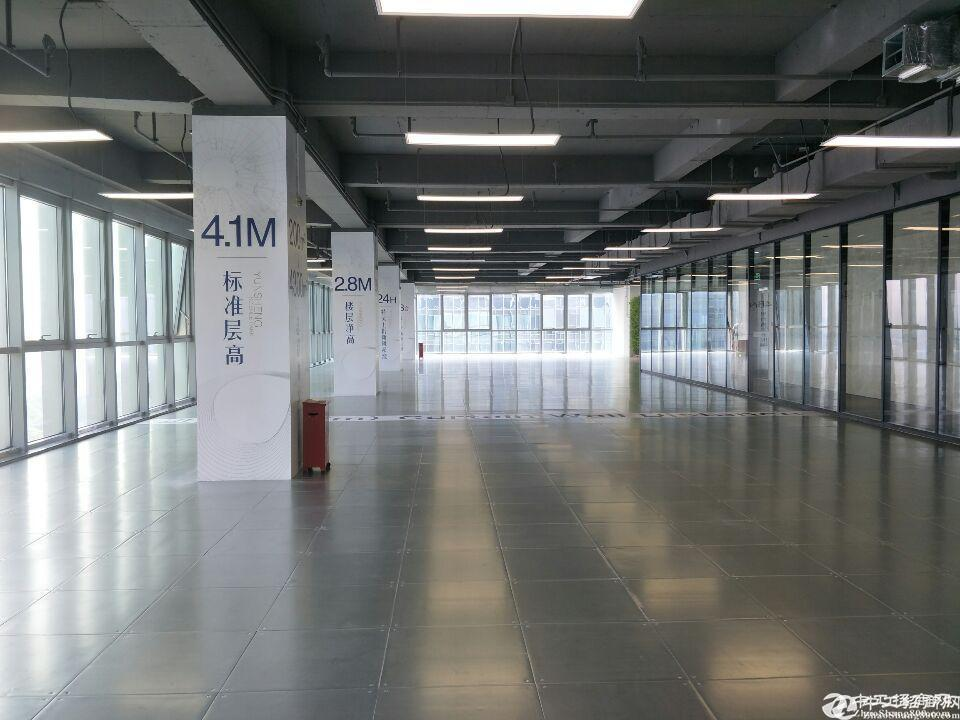 黄埔区科学城全新高新产业园楼上583平出租,可毛坯可精装