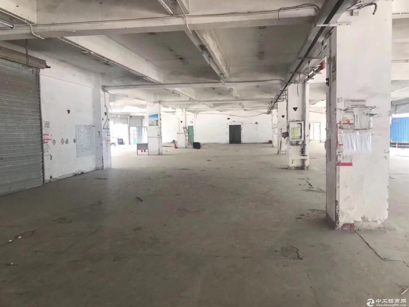 坂田一楼仓库快递物流园仓储配送300平至2300平空地超大