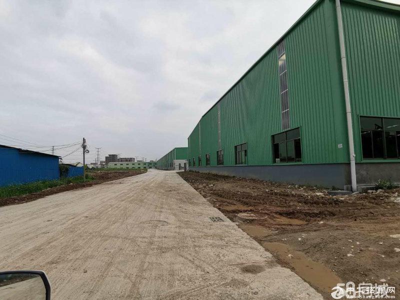 清溪上元新出滴水8米单一层独院钢构4200平厂房出租