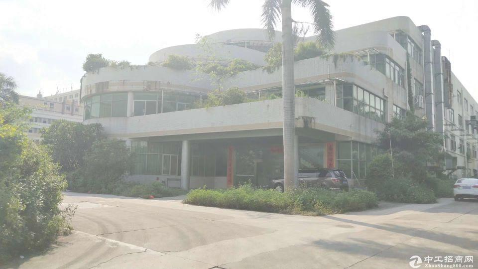 龙华观澜独门独院大型物流仓库1.6万平招租,大车随意好进出。