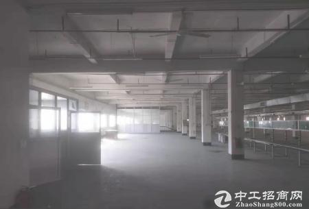 清溪谢坑村花园式原房东红本厂房1500平方招租可分租形象好可