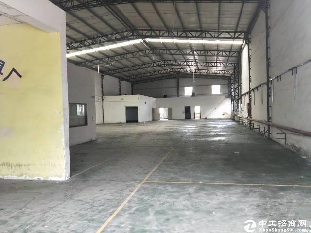 坪山六联工业区钢构厂房物流仓库出租8500平方200平起租