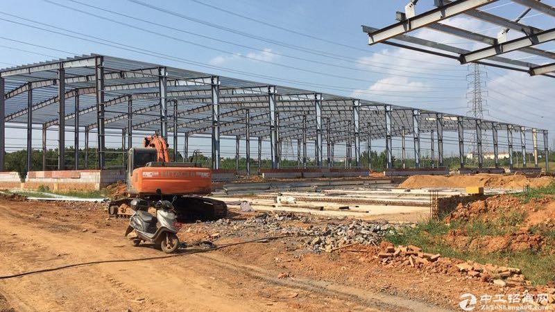 黄陂滠口新十公路旁 2000平钢构厂房 首付五成 十年按揭