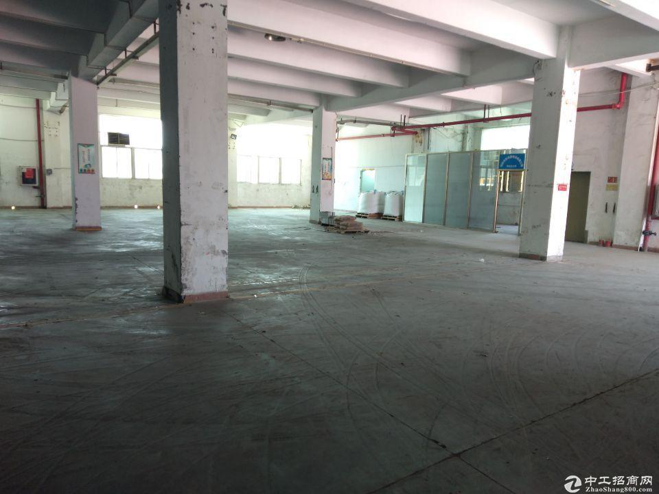坪山村委工业园区厂房出租、剩余3/4楼,每层4126平方