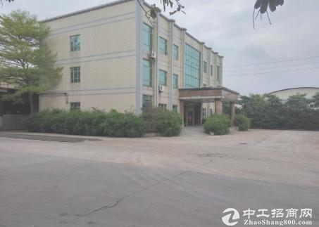 江门新出标准二楼厂房1300平方,形象好带装修