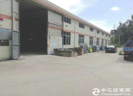 江门新盘3500平方单一层厂房出租,人流非常旺,易招工