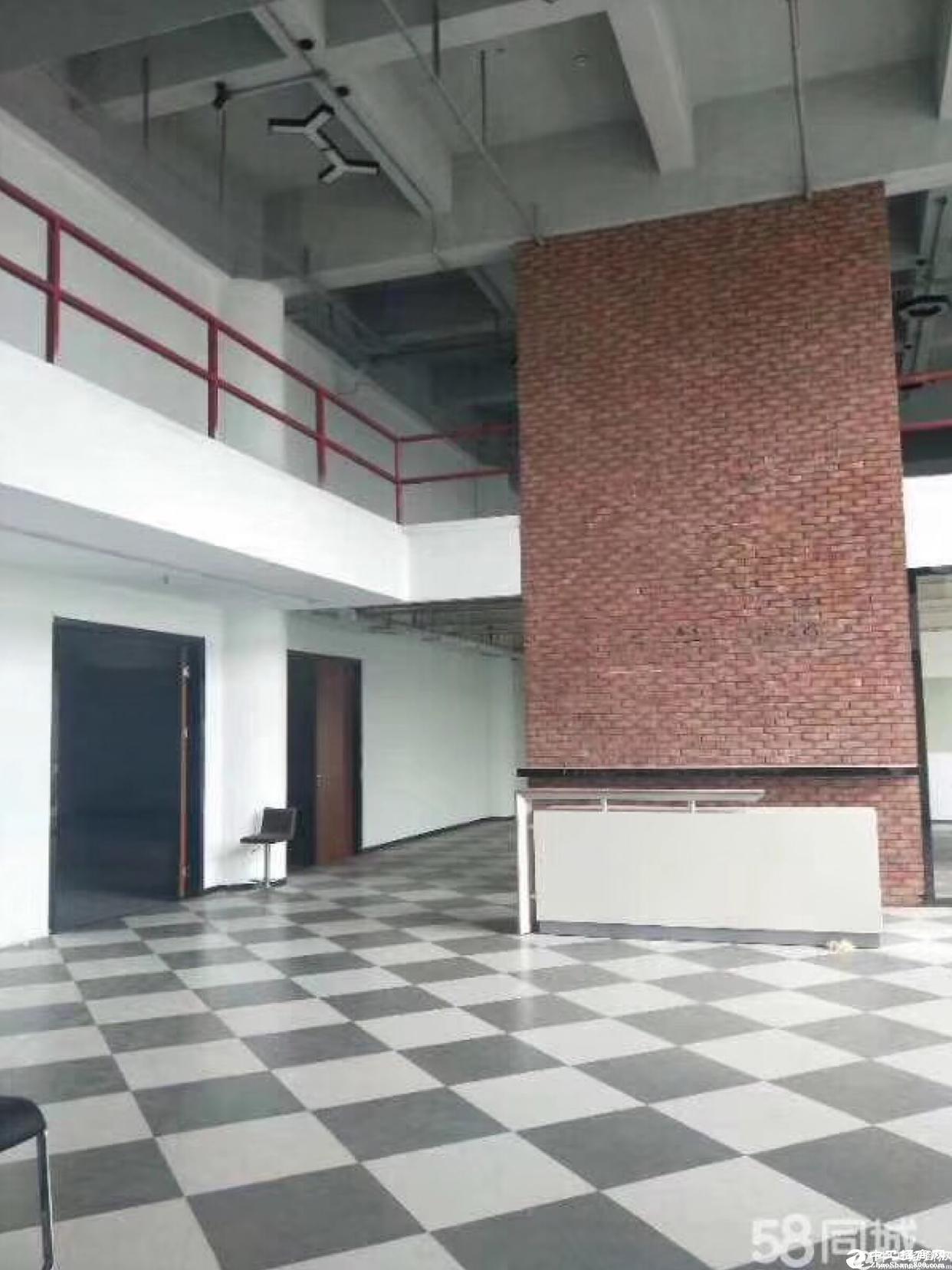 南山区西丽大型工业区楼上1300平带精装修办公厂房招租