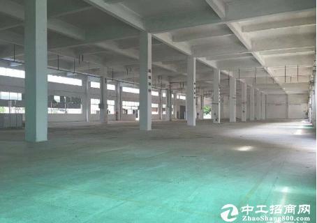 厚街镇寮夏村3820方 带精装厂房仓库出租 好招工