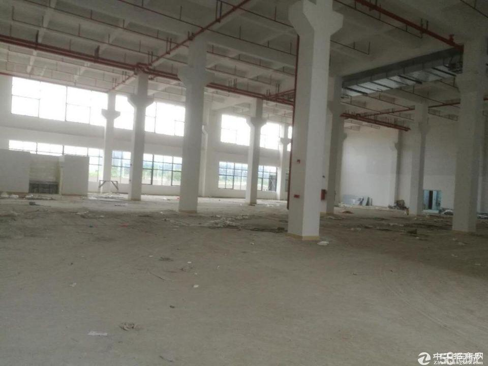 厚街镇赤岭村靠近南城新出原房东出租独栋标准厂房10600平方
