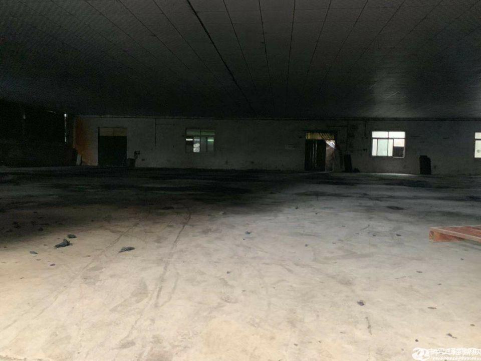 厚街镇宝塘村新出独院带地坪漆厂房仓库3200平米招租可办环评