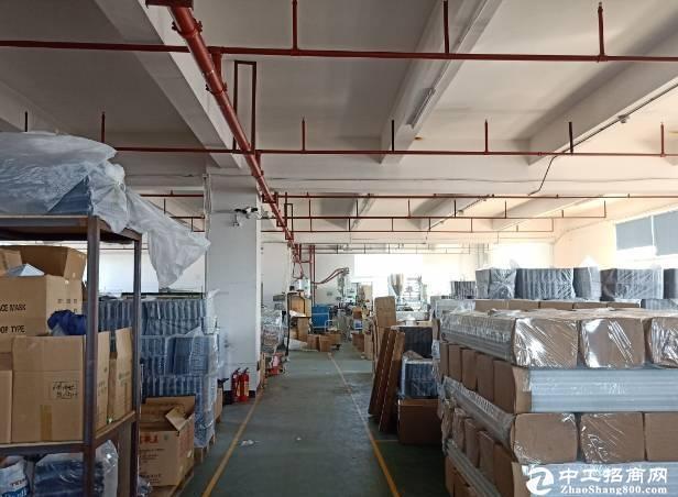 横岗工业园新出11000平红本厂房仓库可分租全新玻璃幕墙