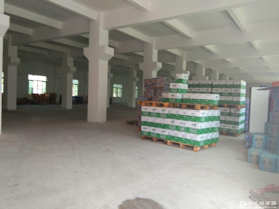 厚街镇沙塘村靠近沙田新出原房东标准工业园厂房一楼1800平招租