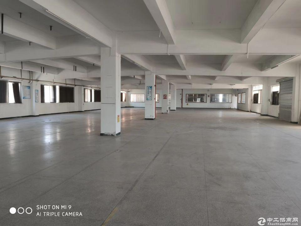厚街镇溪头村工业区新出原房东标准一楼厂房1800平米,大小可分租