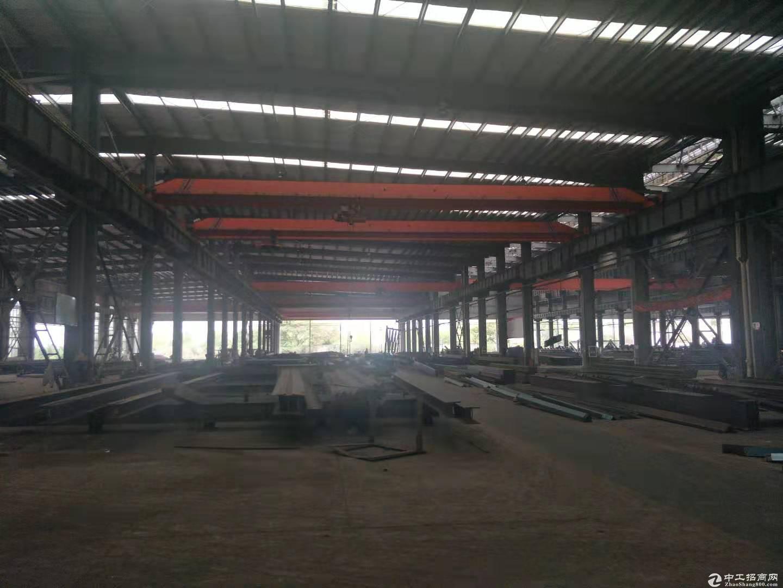阳逻开发区21000平可分,钢构空地6000平,行车20吨,配套全