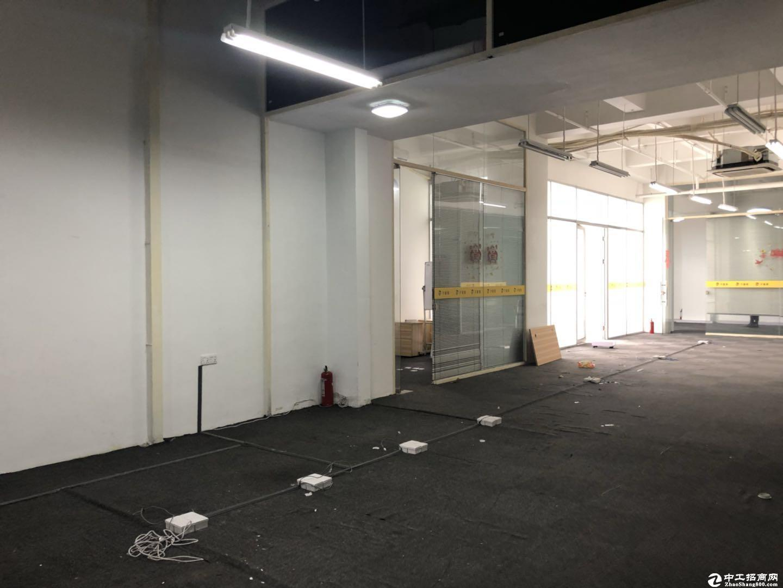 南山西丽茶光精装修850平米办公采光超好带阳台
