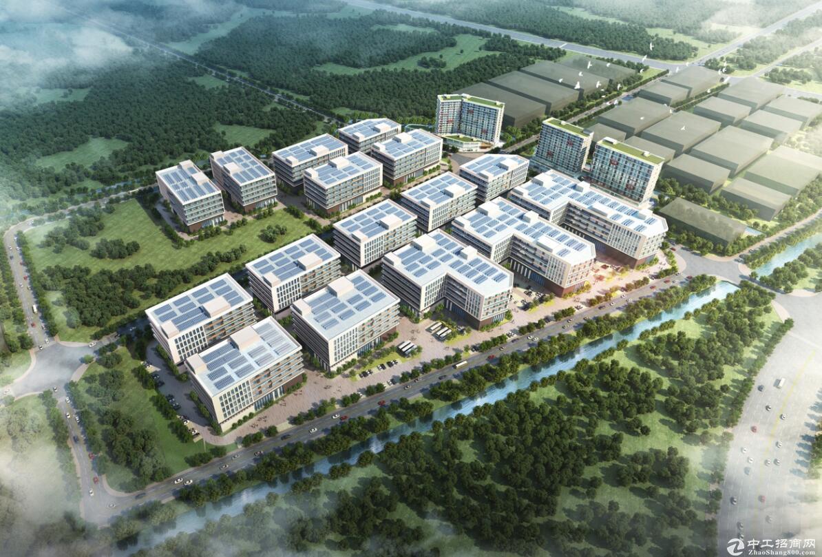 顺德乐从镇全新独栋厂房1.5万m²首层高9.6米