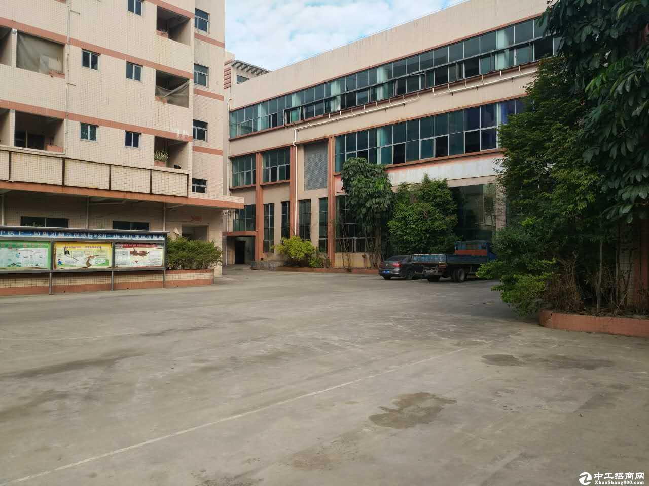 坪山坑梓新出原房东红本二楼厂房1280平,200平起分带精装-图3