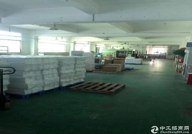 龙岗南联地铁站楼上精装修500平厂房办公仓库出租