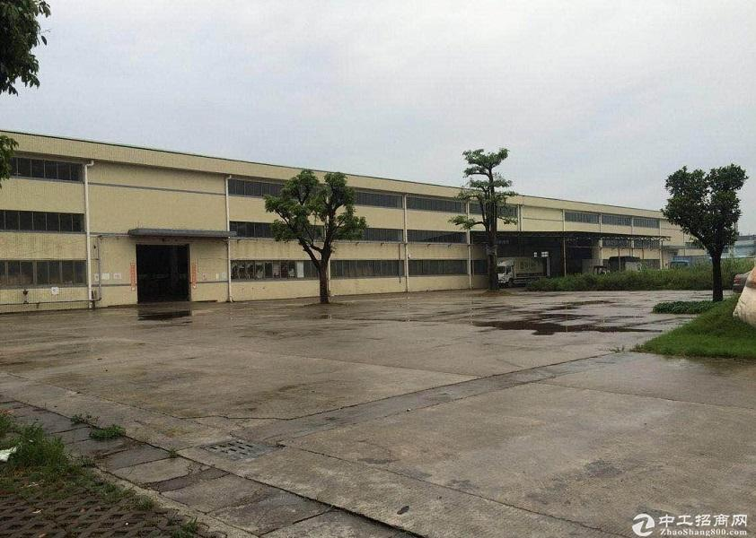 广东江门工业区4000平厂房小仓库出租 租金便宜 独门独院 卸货平台