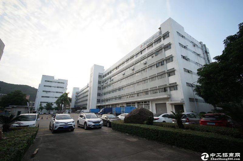 西丽关口大型园区一楼整层1700平米厂房招租,层高6米公摊小