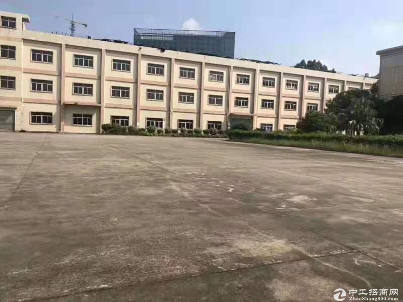清溪三中 原房东独院厂房3层17000平出租 可分租