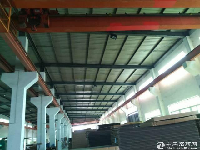广州市出租原房东单一层带行吊工业厂房证件齐有环评