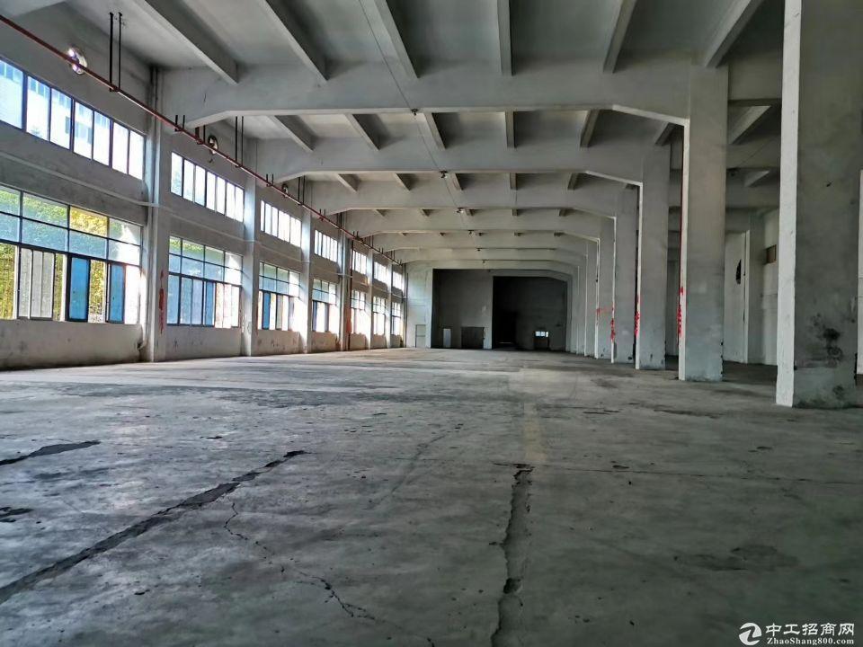 黄埔永和经济开发区新出标准厂房2050平,可分租层高9米