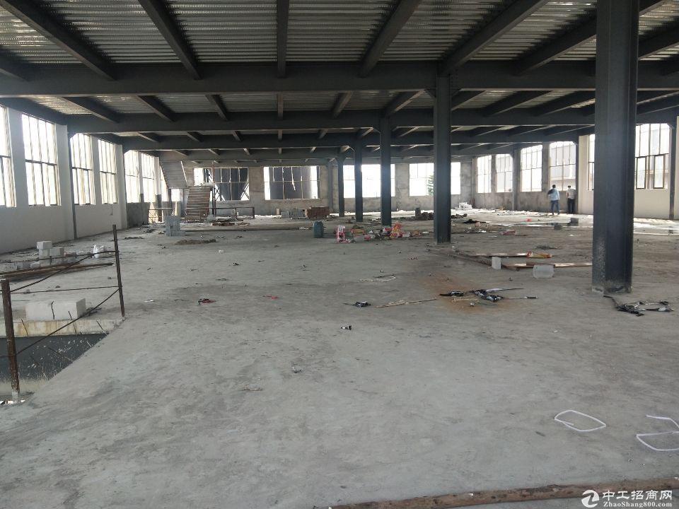 厚街镇寮厦村新出原房东新建钢构厂房4000平方可以分租地段好