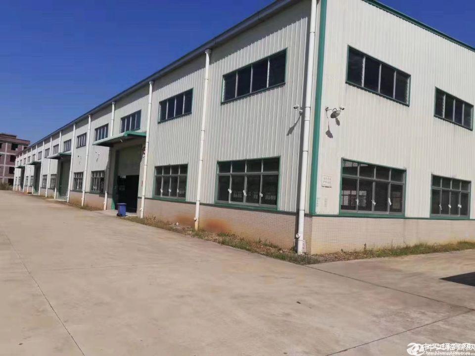 人和原房东独院钢构厂房2050平方米出租滴水10米证件齐全