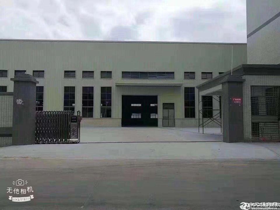 佛山顺德陈村工业区新出钢结构2000平方空地大价格便宜