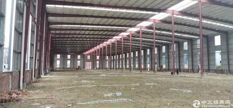 园区单层钢结构厂房出售50年产权