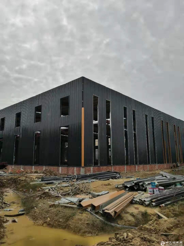 园区单层钢结构厂房出售50年产权-图3