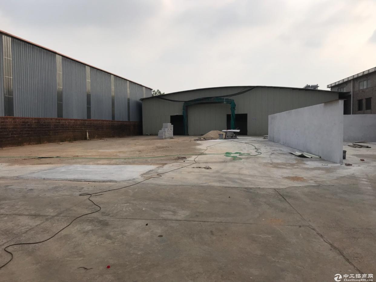里水镇原房东出租带空地2000平方单一层滴水9米独院厂房2400平方