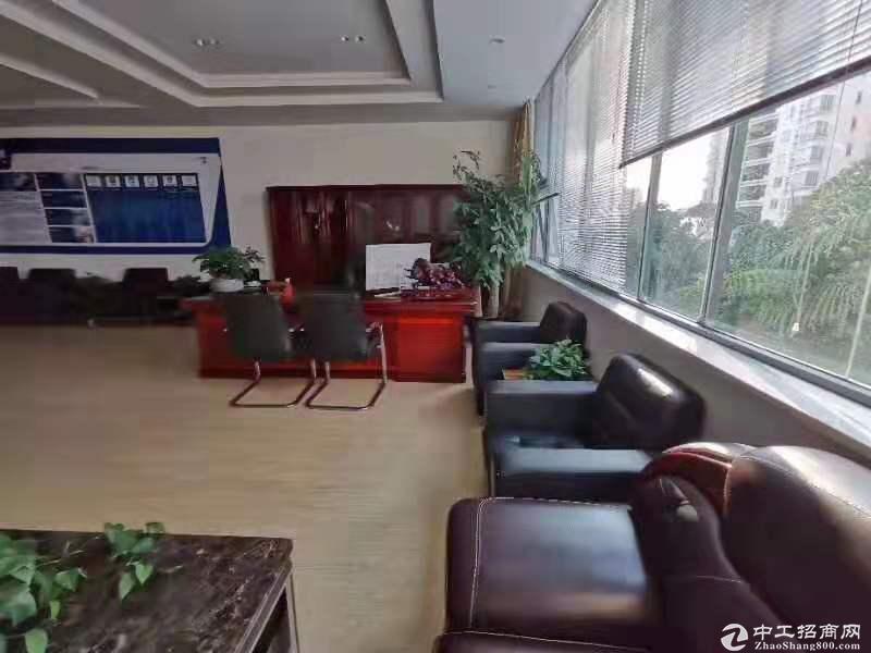 横岗六地铁口零距离商业红本办公室1200平米出租,豪华装修,