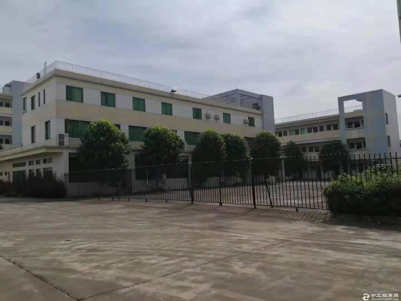 江门市占地:200亩,建筑38000平方国持有双证重型工业厂房出租