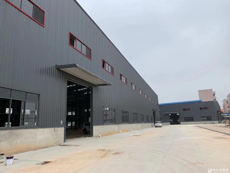 全新单一层仓库厂房出租3500平方,价格优惠,空地大,进大车方便