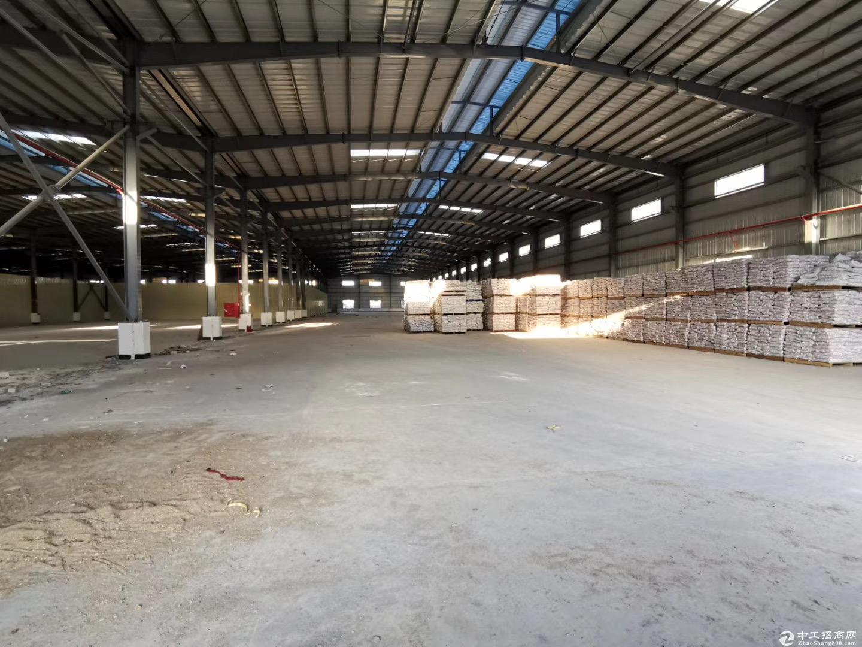 全新单一层仓库厂房出租3500平方,价格优惠,空地大,进大车方便-图2