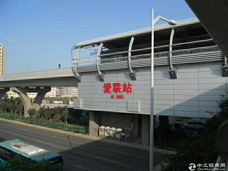 龙岗爱联地铁站旁稀缺430平带装修厂房看中就租