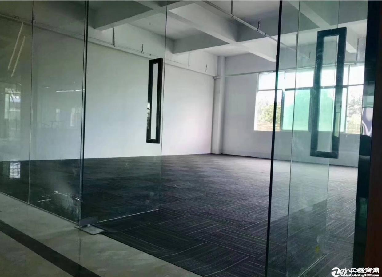 坂田五和大道旁新出楼上800平办公室,仓库出租.