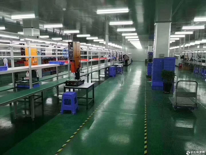 松岗燕川原房东新出独院厂房18000平方有红本带喷淋