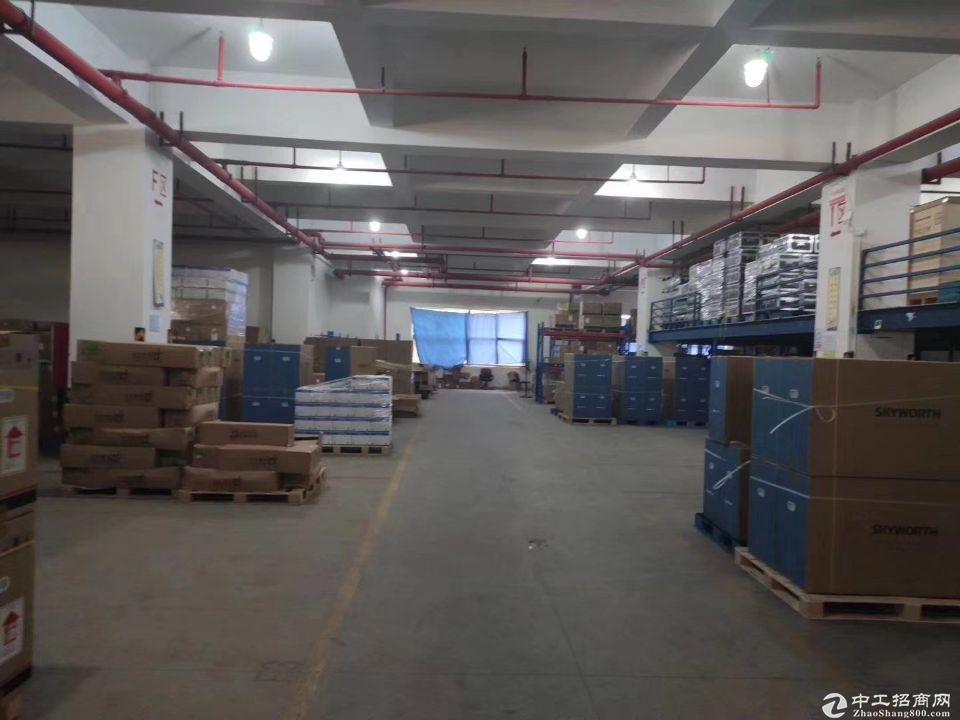 出租龙岗宝龙新出带卸货平台厂房一楼4000平方!超大空地30
