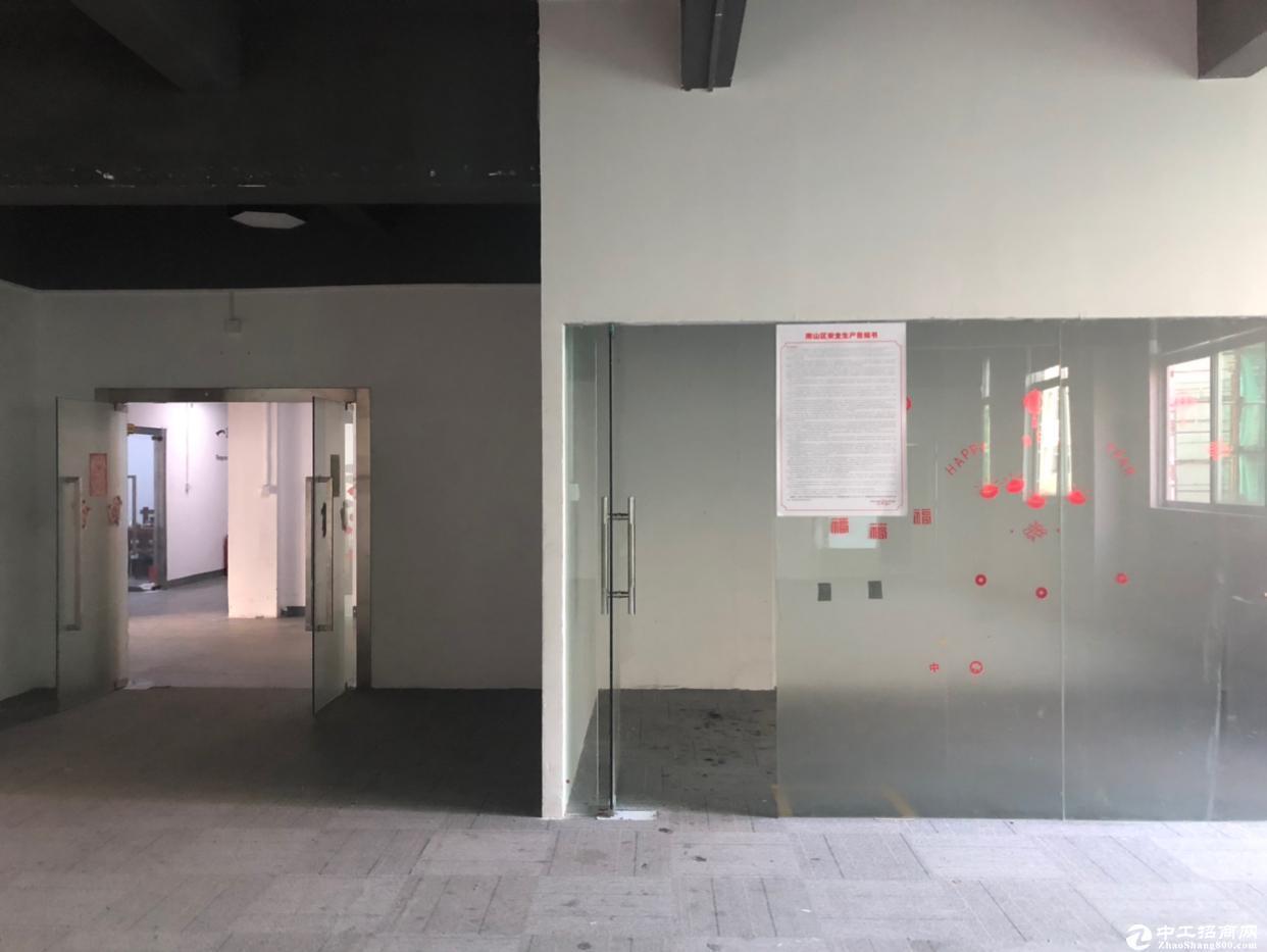 南山区西丽旺棠带办公室装修厂房适合做电商仓库
