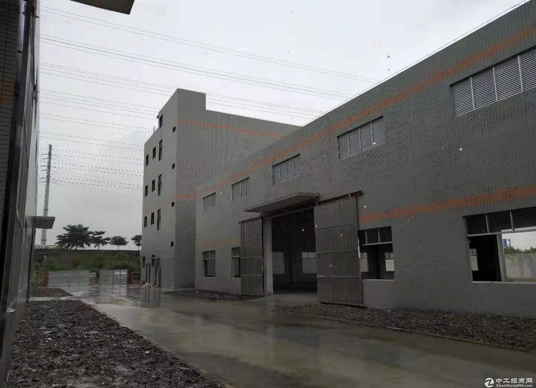 广东韶关曲江工业园5000平钢构厂房仓库出租可分租可办环评
