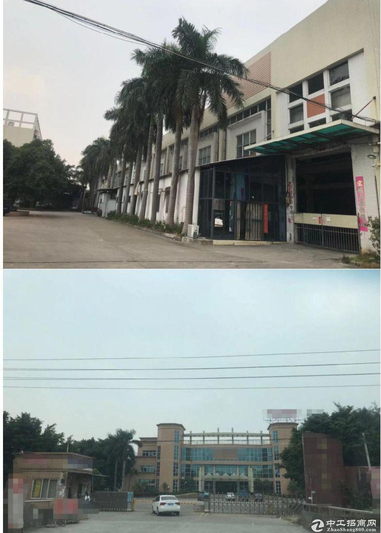 (荷城厂房)佛山占地103亩建筑58227㎡国有双证厂房出售