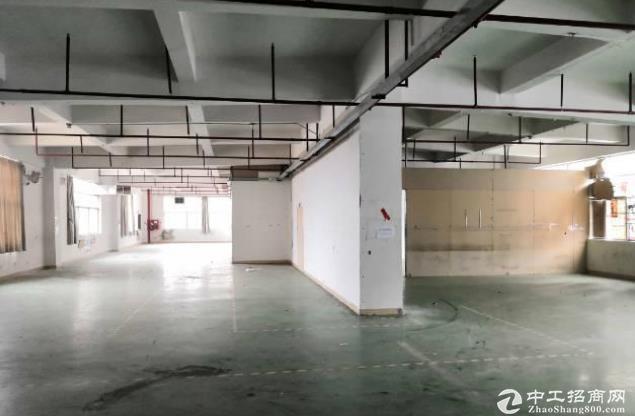 横岗六约工业区500至2000平厂房仓库带地坪漆大小可分租