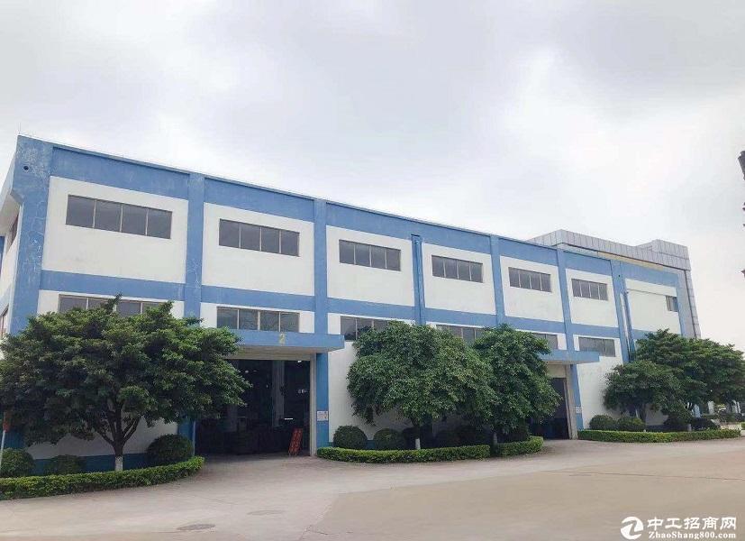广东中山工业园6300平厂房仓库出租 空地超大 交通方便