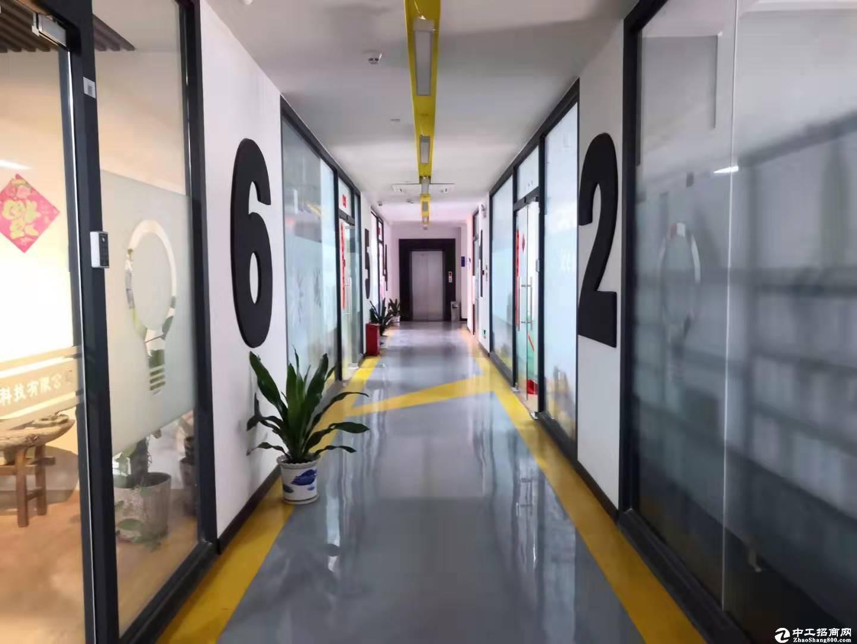 西丽创意园120平精装办公室招租带全套办公家私