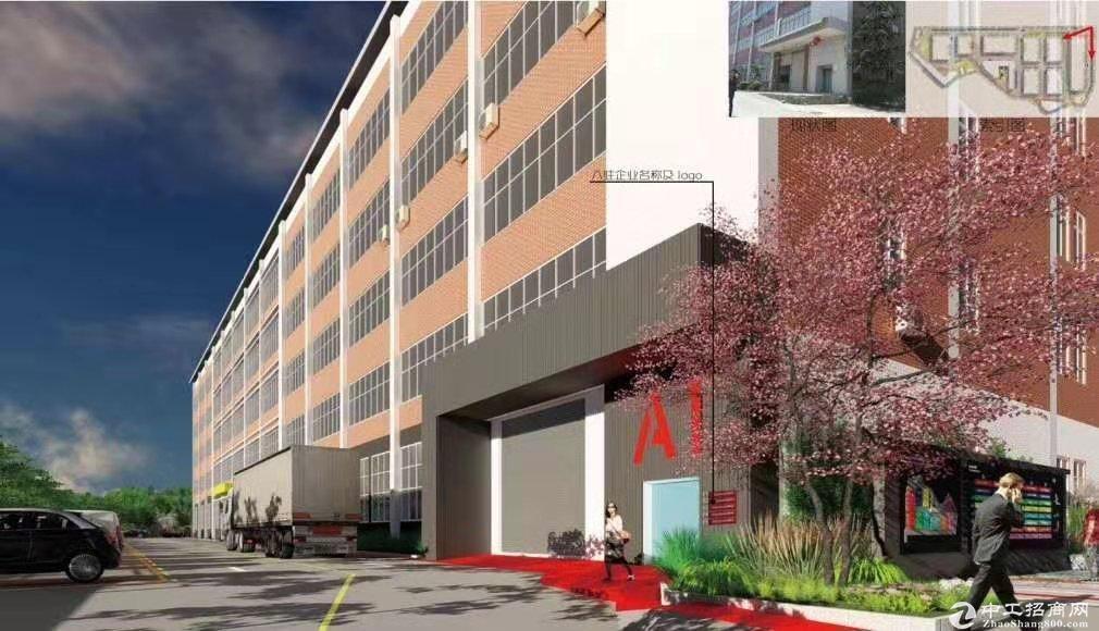 坪山工业园厂房产权过户占地27293建筑总面积68070