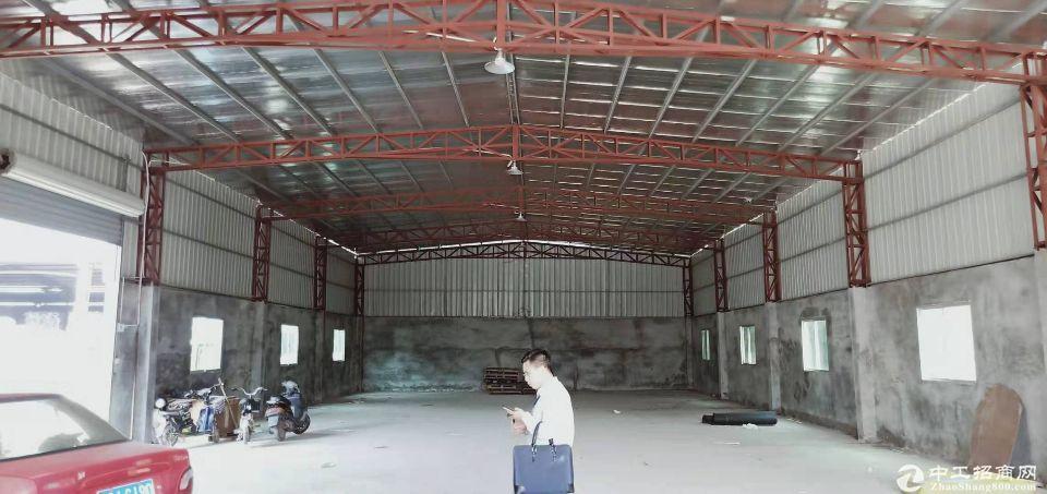 高明区荷城富湾原房东单一层厂房仓库500平方,方正好用