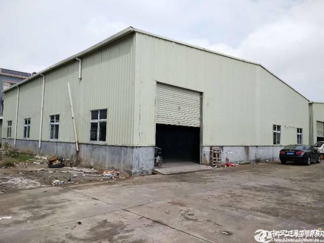 佛山高明荷城工业区内800平方钢构厂房仓库出租